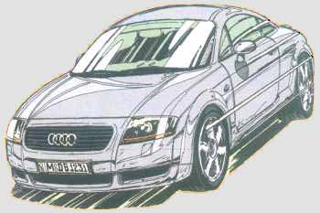 Auditt - Coloriage audi r8 ...